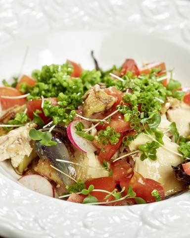 Hendlsalat Slow Food Johannes Puch