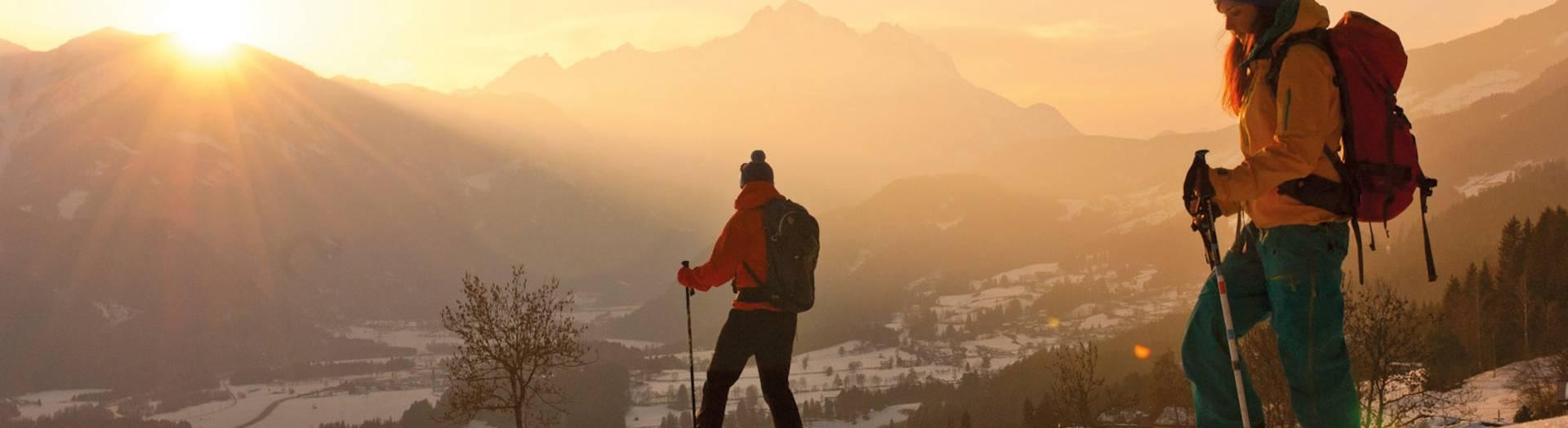 Leppner Alm Schneeschuhwandern