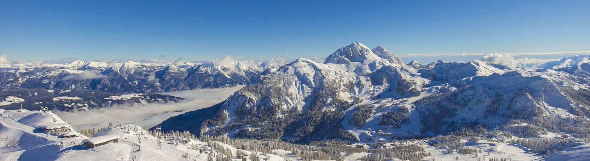 Winterlandschaft Nassfeld