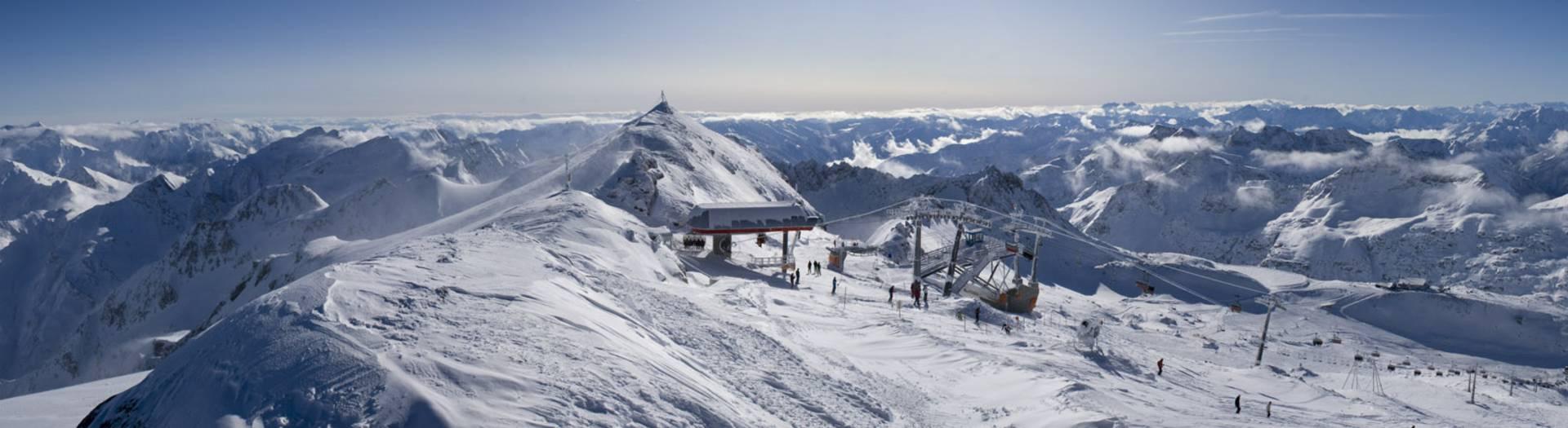 Mölltaler Gletscher Panorama in der Nationalpark-Region Hohe Tauern