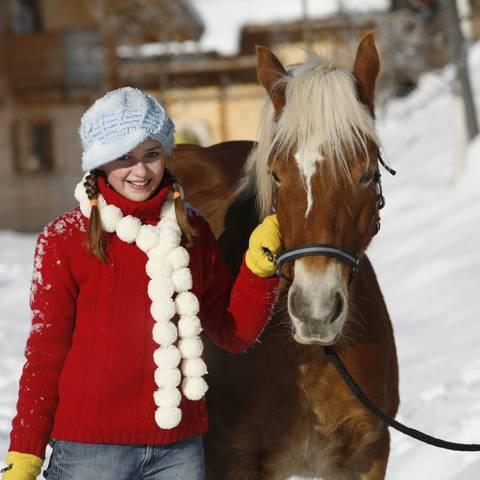Urlaub am Bauernhof im Winter