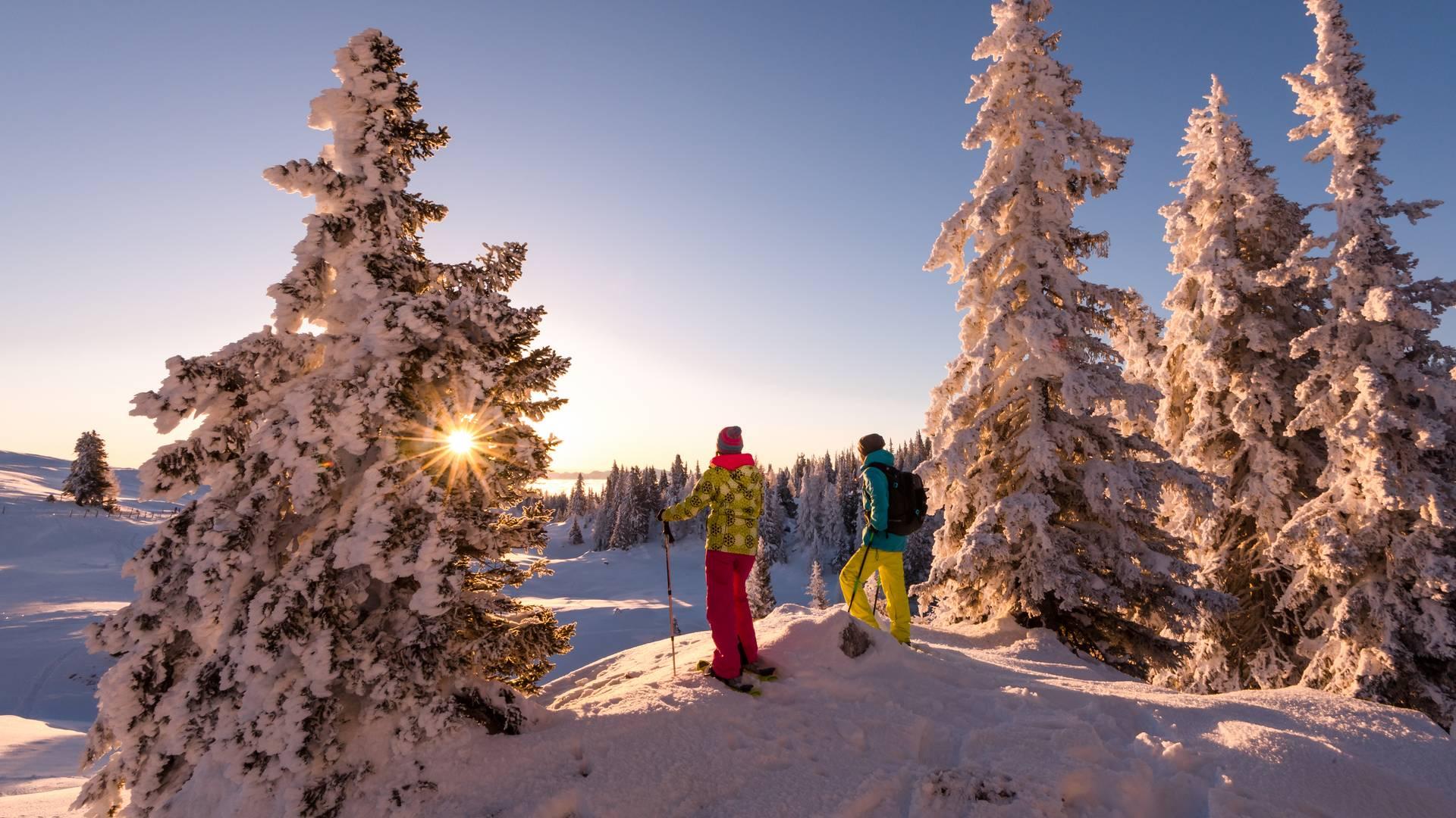 <p>Region Villach Schneeschuhwandern am Dobratsch</p>