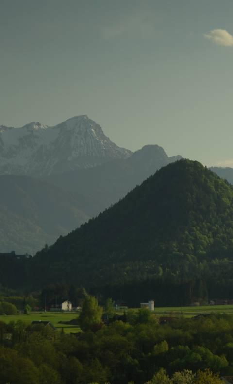 Landschaftsbild Schiefling