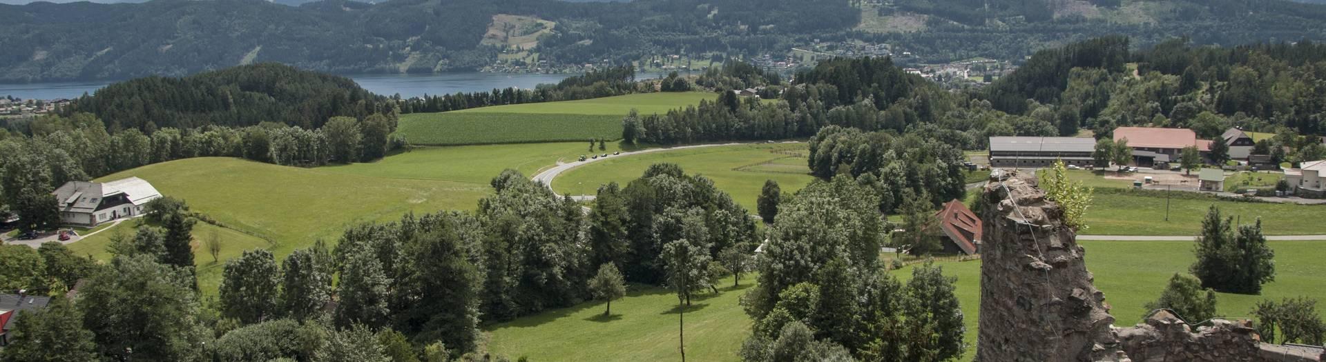 Burg Sommeregg in Seeboden am Millstätter See