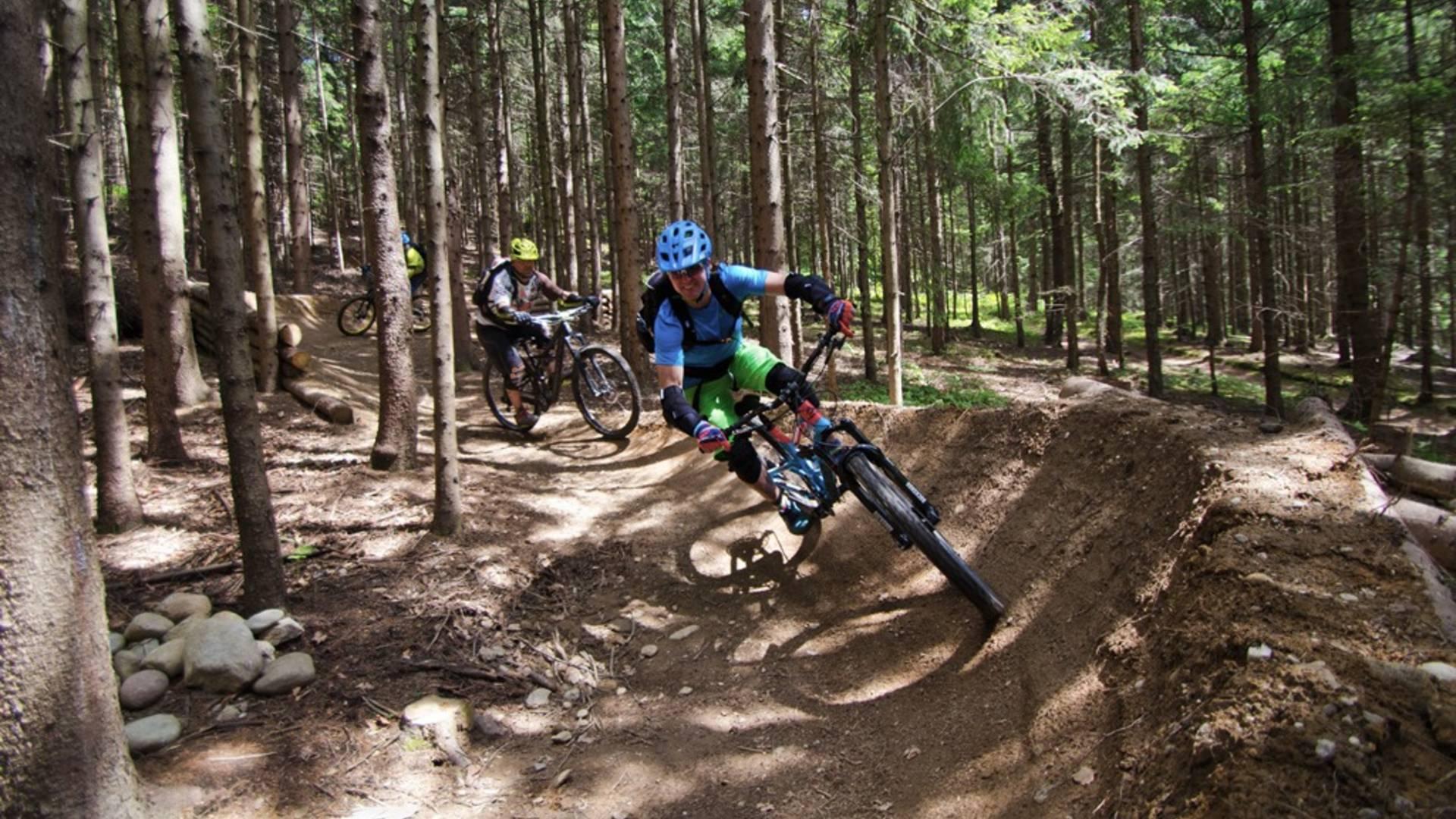 Mountainbike Übungsgelände Kumitzberg