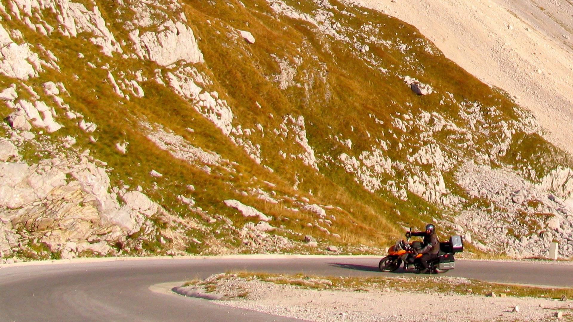 Mangart Bergstrasse