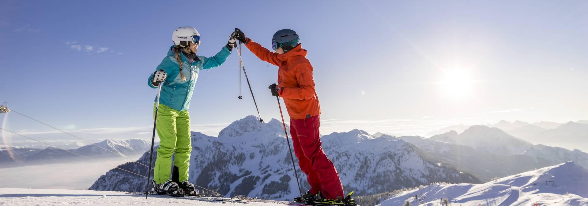 Nassfeld_Winter_Ski Alpin