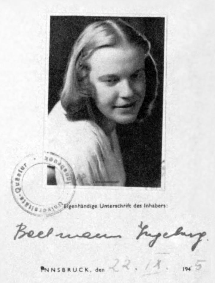 Ingeborg Bachmann Kriegstagebuch